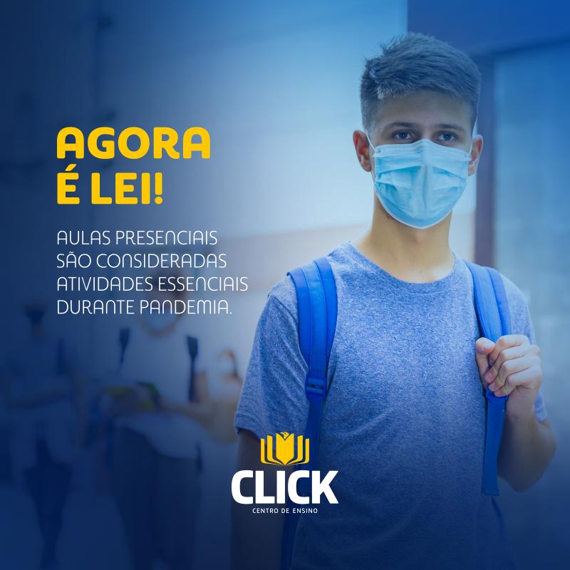 Governo de Santa Catarina sanciona Lei que prevê as aulas presenciais como atividades essenciais durante a pandemia do COVID-19.
