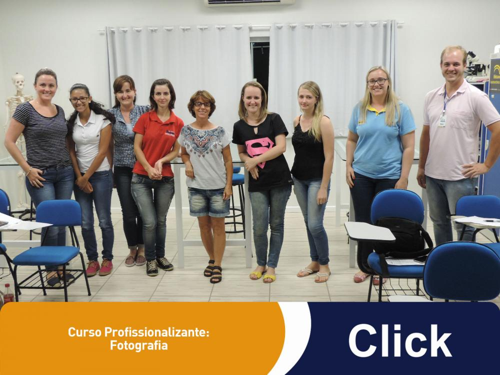 A Click deu início a mais um curso profissionalizante!