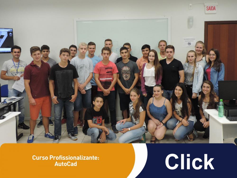 A Click deu inicio a mais um curso profissionalizante!
