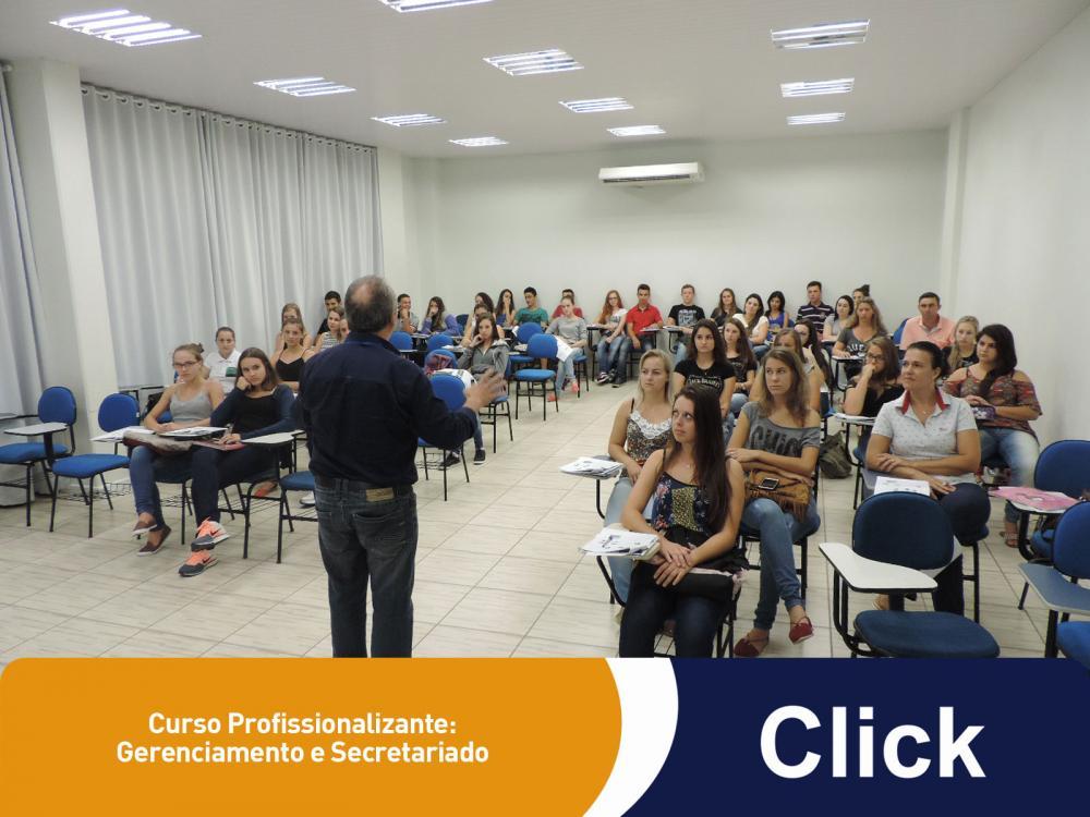 A nova turma de Gerenciamento e Secretariado começou suas aulas na Click!