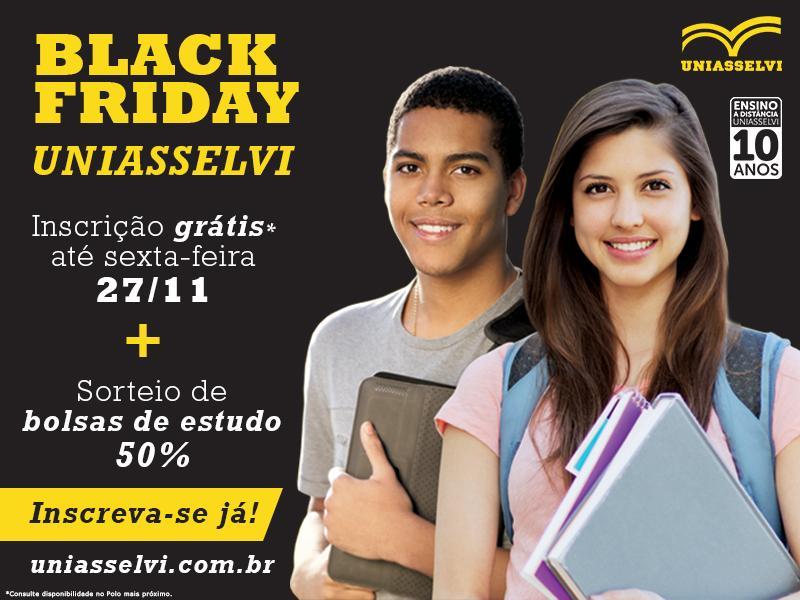 Black Friday UNIASSELVI - CLICK SOLUÇÕES