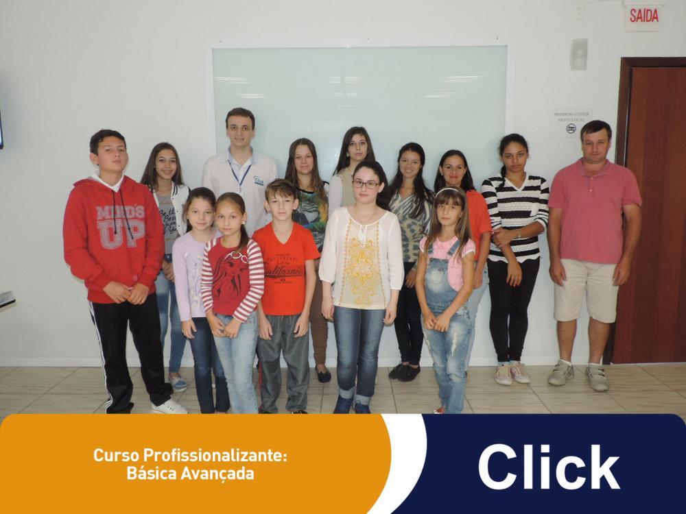 Começaram as aulas de uma nova turma da Click!