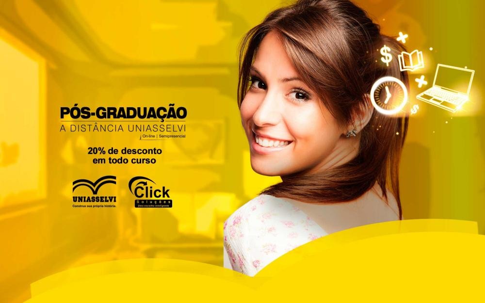 Faça uma pós com a Click e decole a sua carreira!