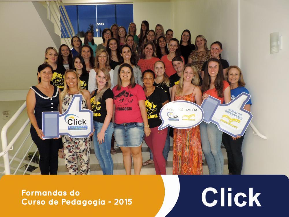 Formandas do Curso de Pedagogia - 2015