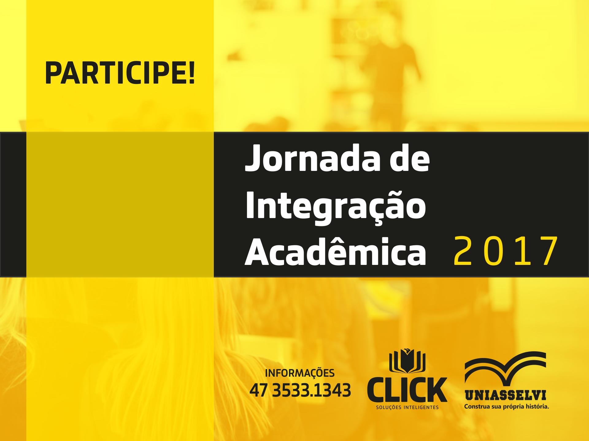 Jornada de Integração Acadêmica 2017