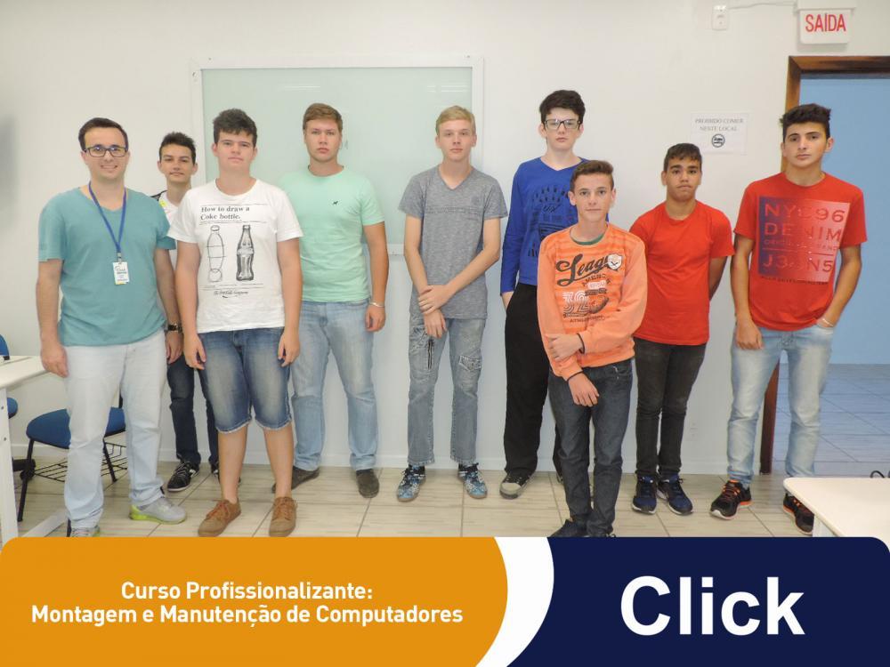 Mais um curso profissionalizante começou na Click!
