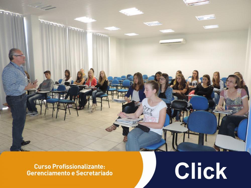 Mais uma turma de Gerenciamento e Secretariado começou suas aulas na Click!