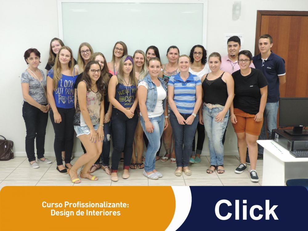 Mais uma turma iniciou seus estudos na Click!