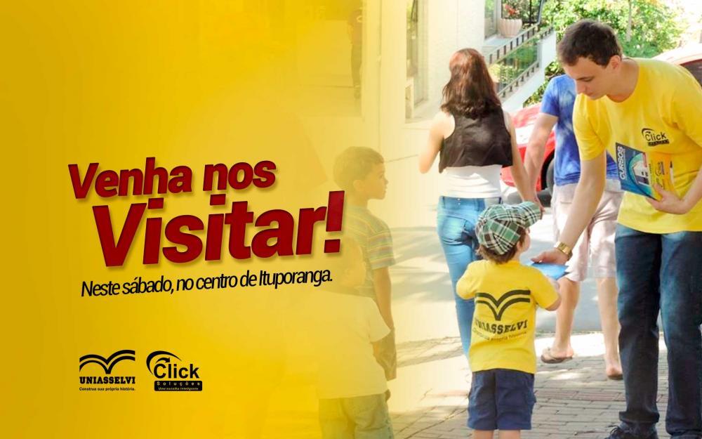Nesse sábado a Click estará presente no centro de Ituporanga!
