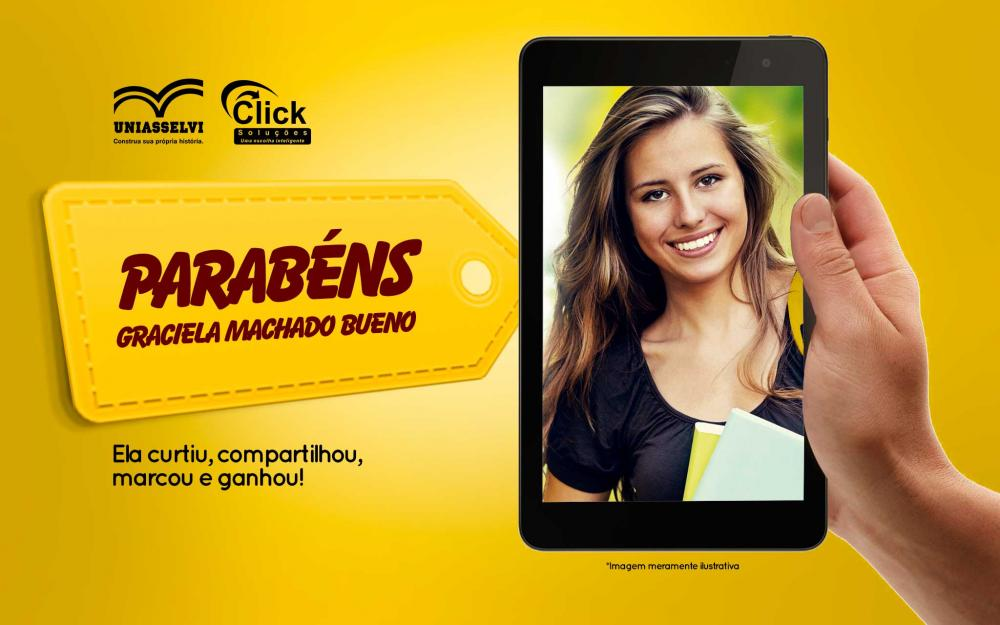 Parabéns Graciela Machado Bueno!