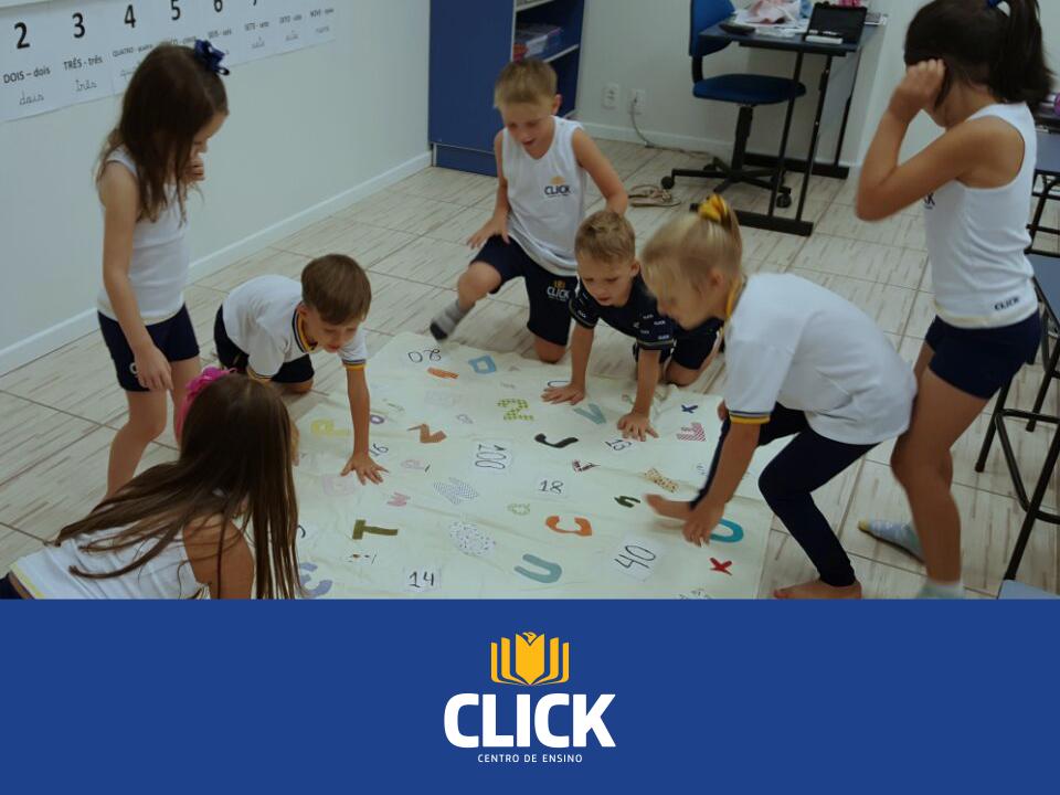 Primeiras semanas de aula no Centro de Ensino da Click!