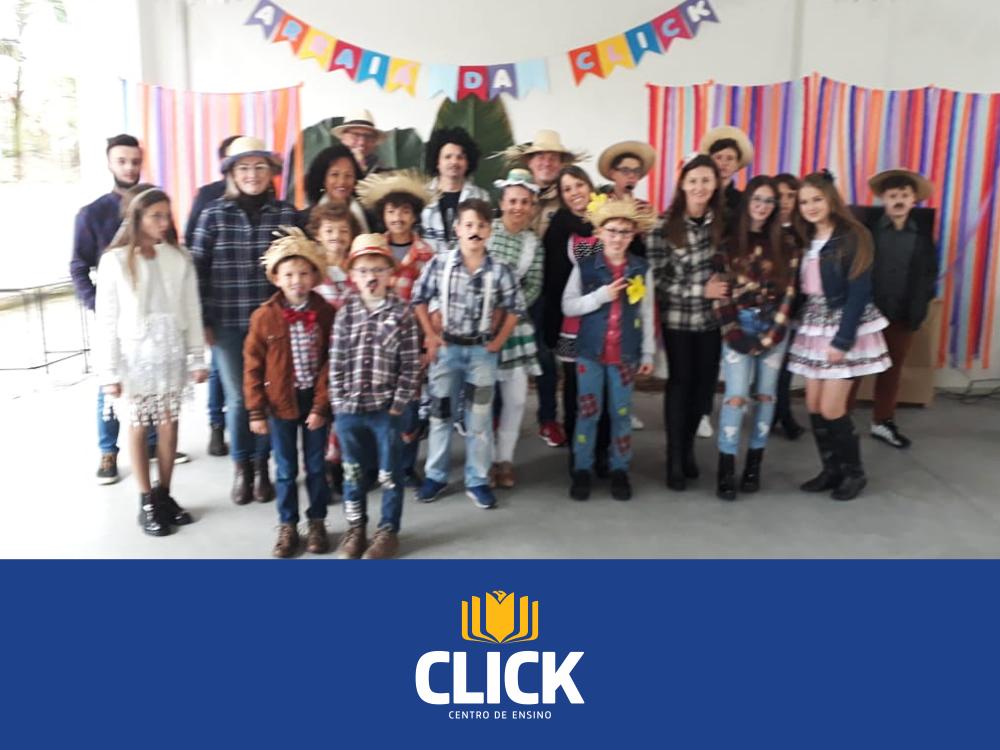 2ª Festa Junina do Centro de Ensino Click Soluções!
